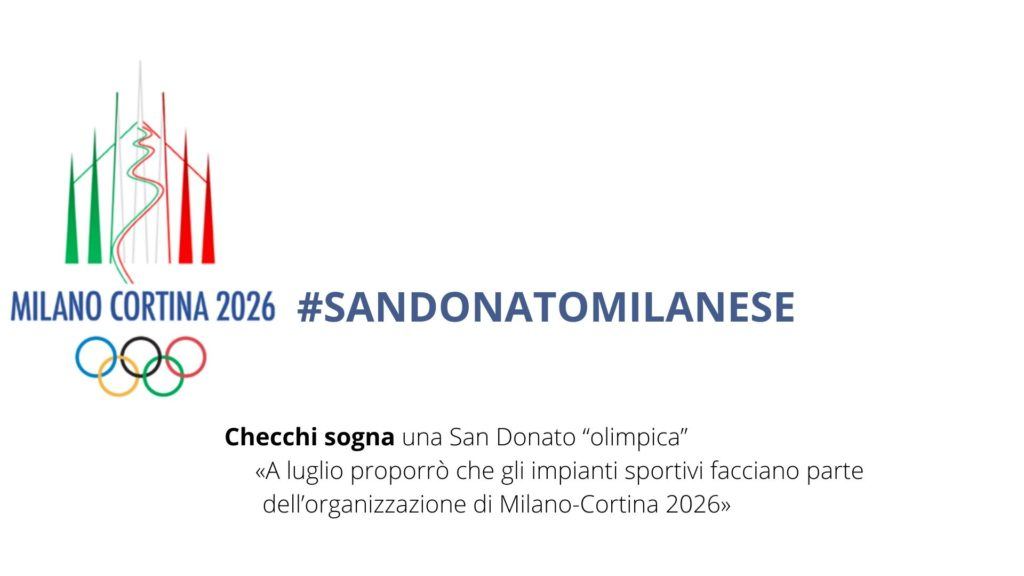 Il Sindaco Checchi sogna le Olimpiadi invernali a San Donato Milanese