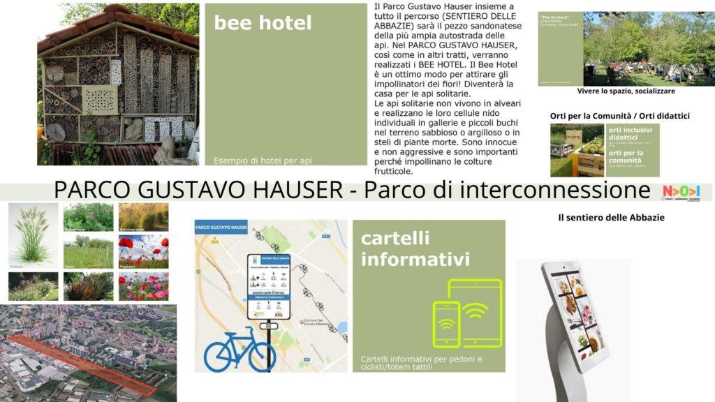 PARCO GUSTAVO HAUSER - Parco di interconnessione / Sentiero delle Abbazie