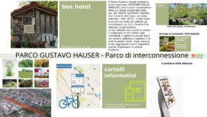 Parco Gustavo Hauser - Parco di Interconessione - Sentiero delle Abbazie
