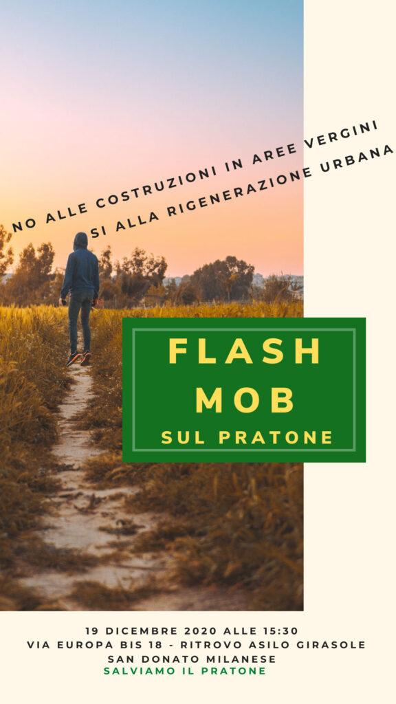 FLASH MOB 19 Dicembre 2020 - SALVIAMO IL PRATONE #sandonatomilanese