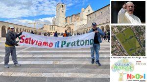 10 ottobre 2021- Marcia della Pace Perugia Assisi - Salviamo il PRATONE
